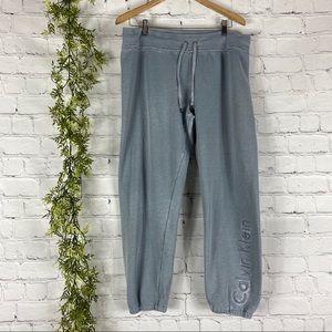 Calvin Klein Blue Distressed Lounge Pants XL
